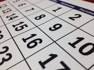 CST Schedule